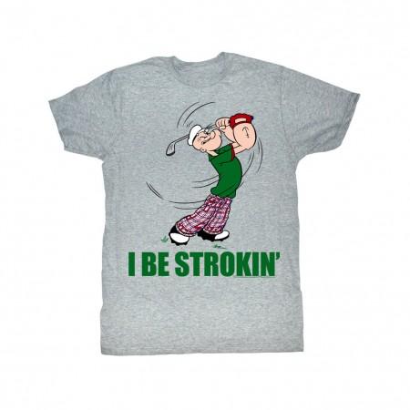 Popeye Strokin T-Shirt