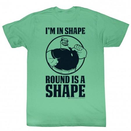 Popeye In Shape T-Shirt