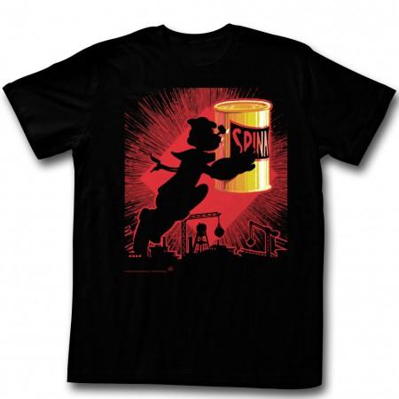 Popeye Silhouette T-Shirt