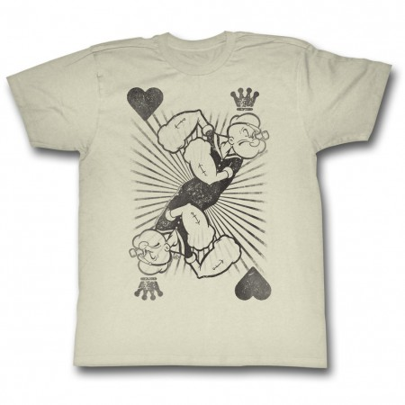 Popeye King Of Harts T-Shirt