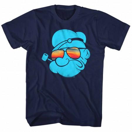 Popeye Aviators Blue TShirt