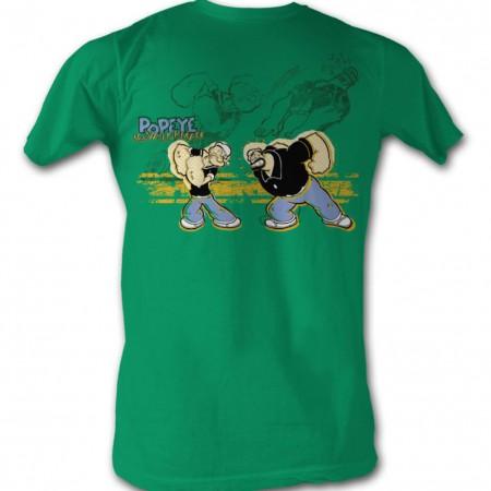 Popeye Popeye Punch T-Shirt