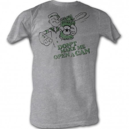 Popeye Open A Can T-Shirt
