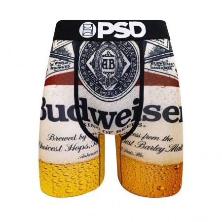 Budweiser Bottle Label Boxer Briefs