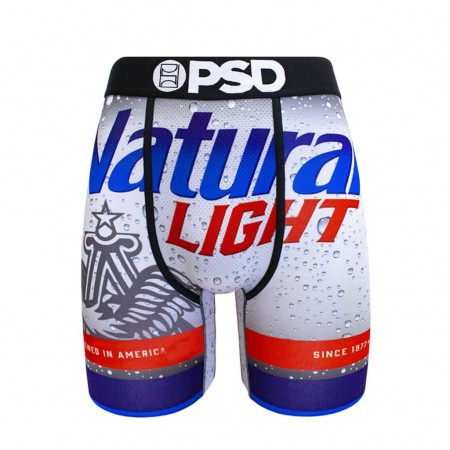 Natural Light Bottle Label Boxer Briefs