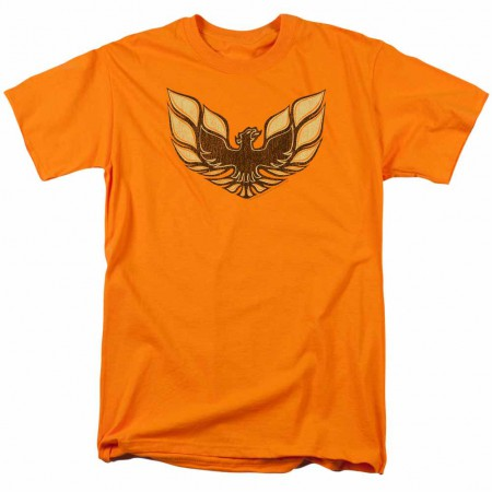 Pontiac Ross 1975 Bird Orange T-Shirt