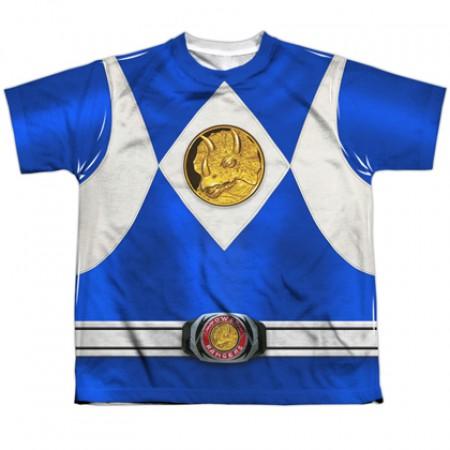 Power Rangers Blue Ranger Youth Costume Tee