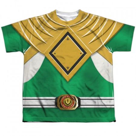 Power Rangers Green Ranger Youth Costume Tee