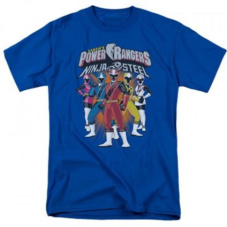 Power Rangers Ninja Steel Lineup Tshirt