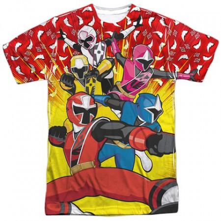 Power Rangers Steel Go Go Ninja Tshirt