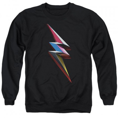 Power Rangers The Movie Bolt Logo Crewneck Sweatshirt