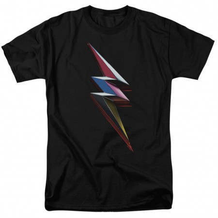 Power Rangers The Movie Bolt Tshirt