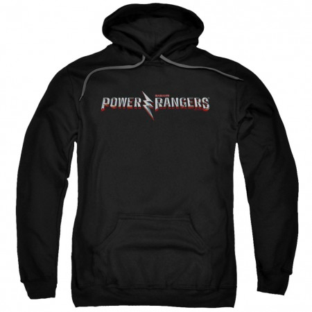 Power Rangers The Movie Logo Hoodie
