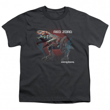 Power Rangers Red Zord Youth Tshirt