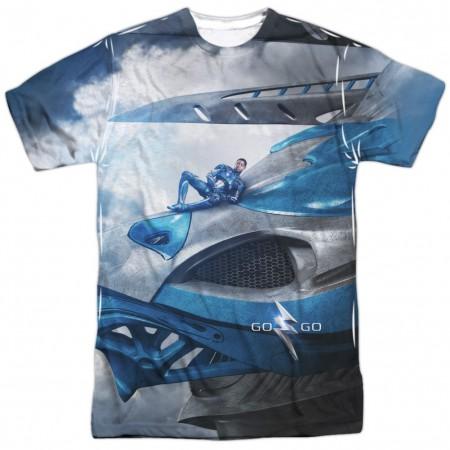 Power Rangers Blue Zord Tshirt