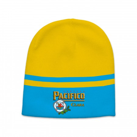 Pacifico Logo Two Tone Winter Beanie