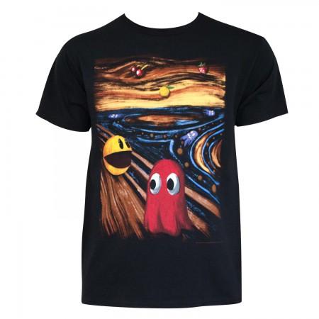Pac-Man Men's Black Art T-Shirt