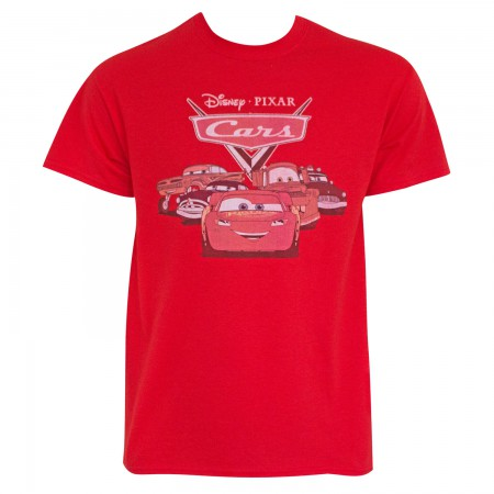 Cars Men's Red Classic Logo T-Shirt