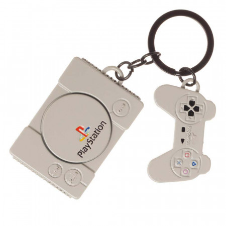 Playstation Original Console Keychain