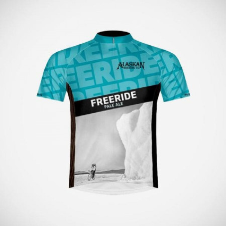 Alaskan Freeride Pale Ale Cycling Jersey