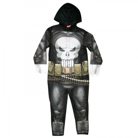 Punisher Pajama Union Suit Men's Costume