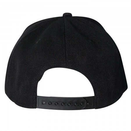 Black Panther Giant Logo Snapback Hat
