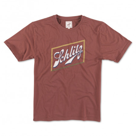 Schlitz Beer Red Men's Logo T-Shirt
