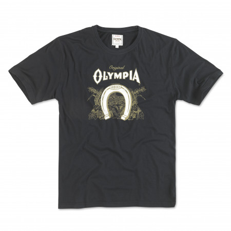 Olympia Beer Men's Black Logo T-Shirt
