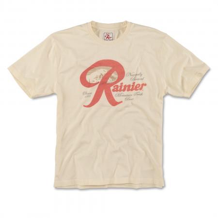 Rainier Beer Faded Logo T-Shirt