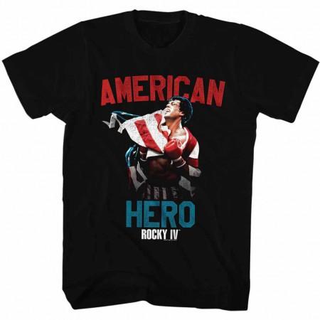 Rocky Hero Black TShirt