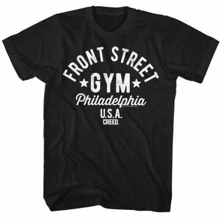 Rocky Front Street Black TShirt