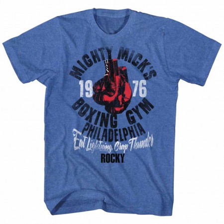Rocky Mick's Gym Blue TShirt