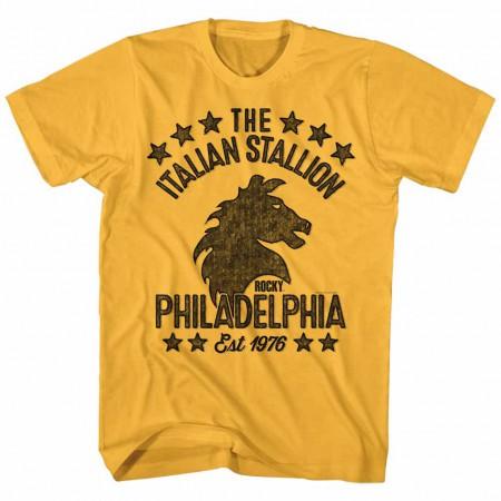 Rocky Stallionish Yellow TShirt