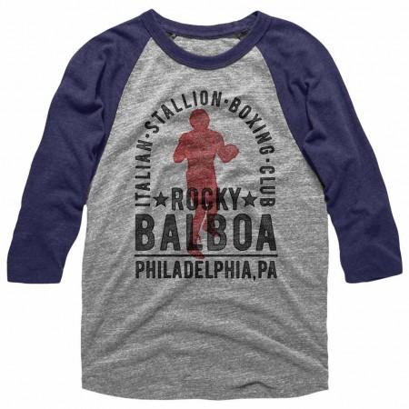 Rocky Balboa Boxing Club Blue TShirt