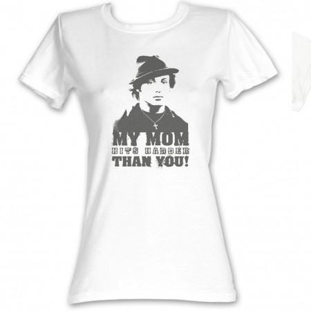 Rocky My Mom Hits Harder T-Shirt