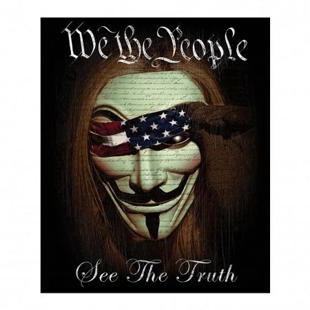 We The People 50x60 Fleece Blanket