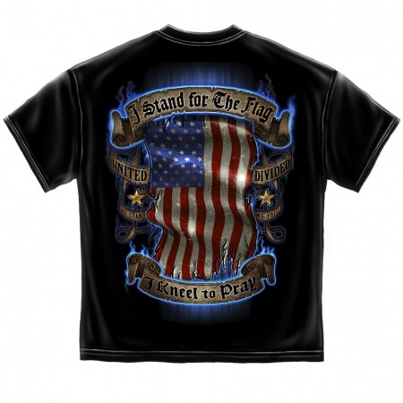 I Stand For The Flag Kneel To Pray Tshirt