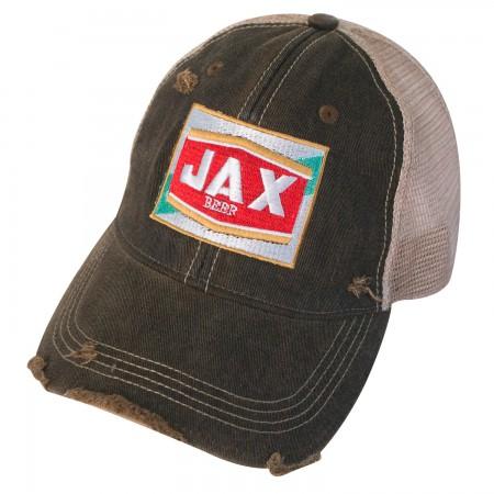 Jax Beer Distressed Trucker Hat