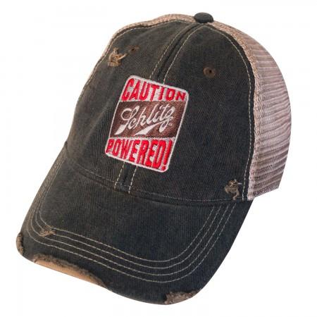 Schlitz Beer Distressed Trucker Hat