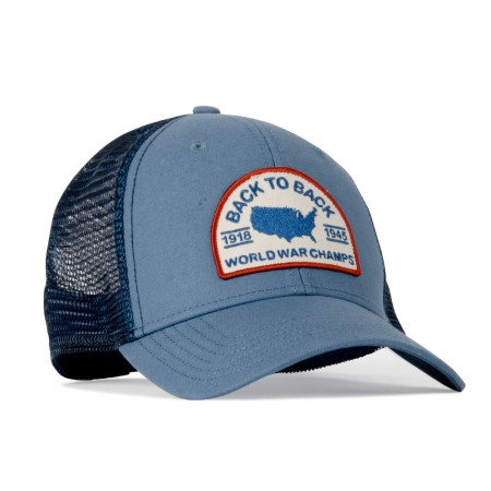 Rowdy Gentleman Back to Back World War Champs Meshback Hat