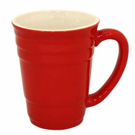Red Party Cup 16oz Ceramic Mug