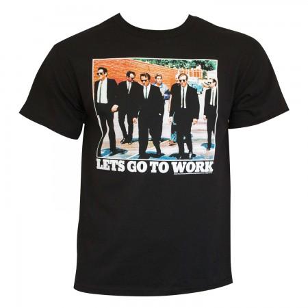 Reservoir Dogs Men's Black Let's Go To Work T-Shirt