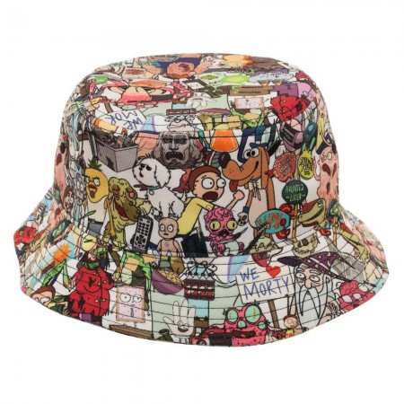 8979c947dafe Rick And Morty Characters Bucket Hat