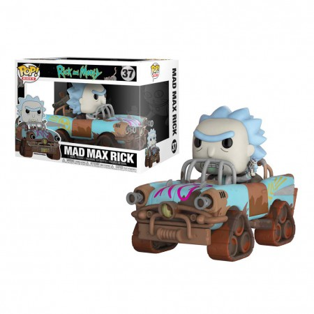 Rick And Morty Mad Max Premium Rick Funko Pop Figure