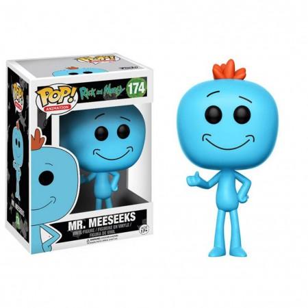 Funko Pop Rick And Morty Blue Mr. Meeseeks Bobble Head
