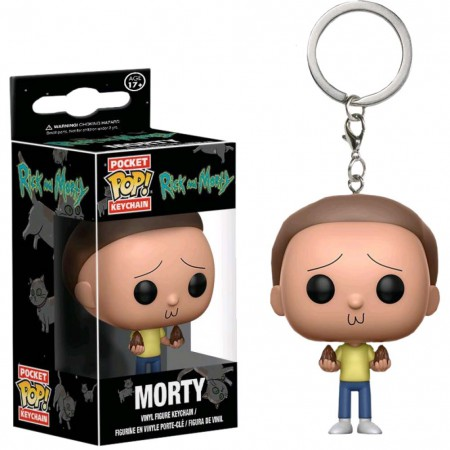 Rick And Morty Funko Pop Keychain