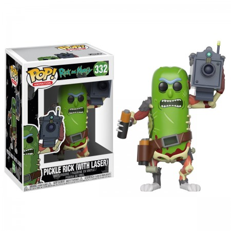 Rick and Morty Pickle Rick with Lasers Funko Pop Vinyl Figure