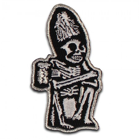 Rogue Dead Guy Iron On Patch}