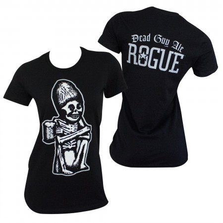 Dead Guy Rogue Women's Black Tee Shirt}
