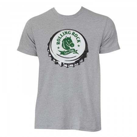 Rolling Rock Bottle Cap Tee Shirt